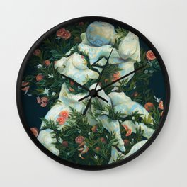 Be Fruitful and Multiply Wall Clock