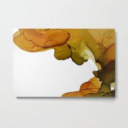Autumn Ink Composition II Metal Print