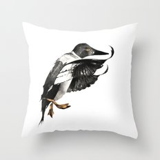 Goldeneye Duck Throw Pillow