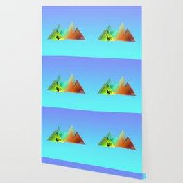 MTB Moutains Colors Wallpaper