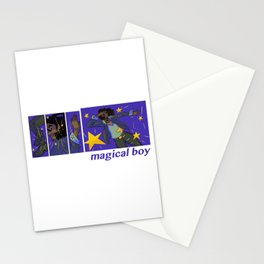 magical boy Stationery Cards