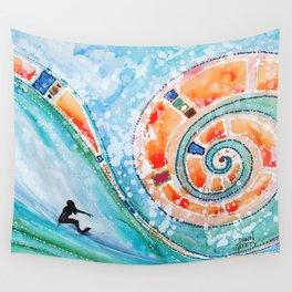 Wahine Wall Tapestry