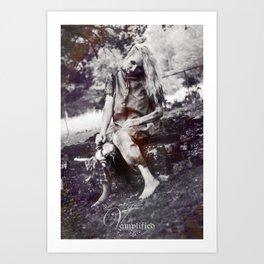 "VAMPLFIED ""Brick Dust"" Art Print"