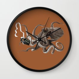 Count to Ten (colour) Wall Clock