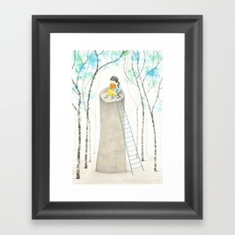 A different Rapunzel Framed Art Print