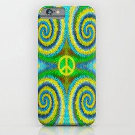 Peace Koru iPhone Case