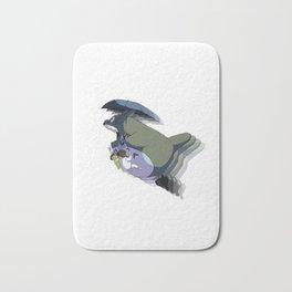 Totoroo flying Bath Mat