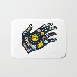 Positivity – Helping Hand Bath Mat