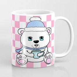 Polar Bear Drinking Hot Chocolate Coffee Mug