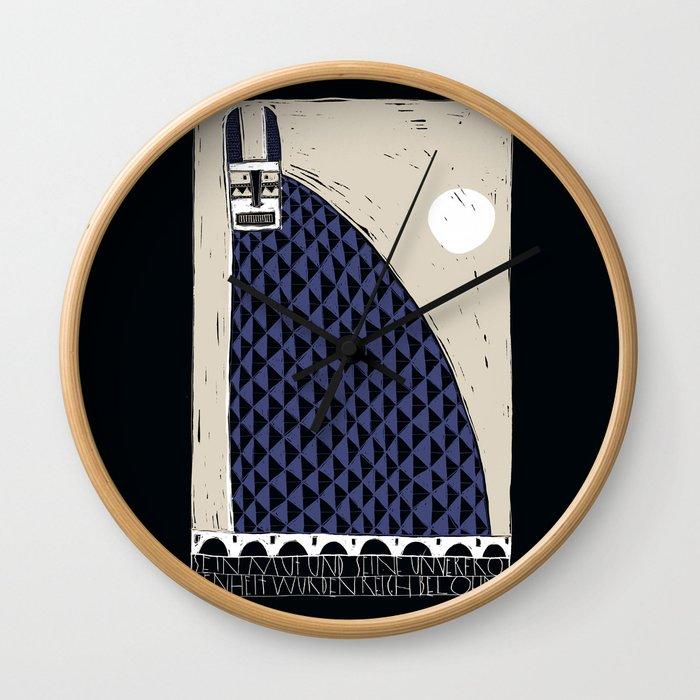 Hase & Mond Wall Clock