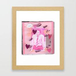Mr. M. Framed Art Print