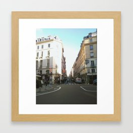 French Sky Framed Art Print