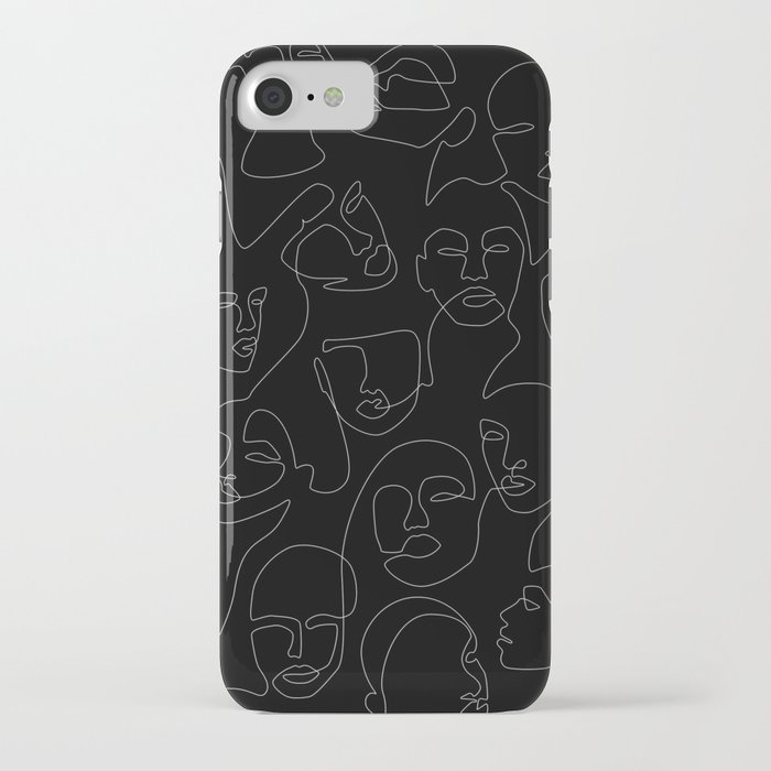 Face Lace iPhone Case