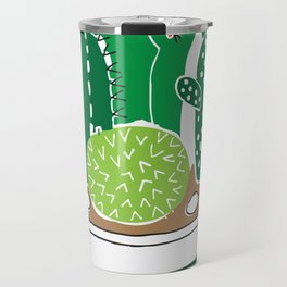 Cactii garden Travel Mug