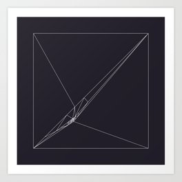 #115 Rip – Geometry Daily Art Print