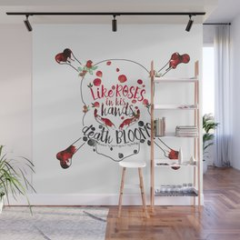 Illuminae - Death Like Roses Wall Mural