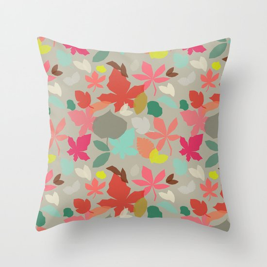 spring and fall Throw Pillow
