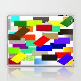 einfach farbig   (A7 B0054) Laptop & iPad Skin
