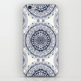Supernova-In Navy, Dark Blue, & Grey iPhone Skin