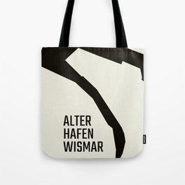 Wismar Alter Hafen Grotesk Tote Bag