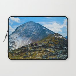 Pyramid Mountain in Jasper National Park, Canada Laptop Sleeve