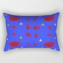 marine pattern Rectangular Pillow