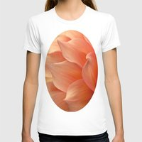 jewish T-shirts featuring Gentle Petals by Brown Eyed Lady