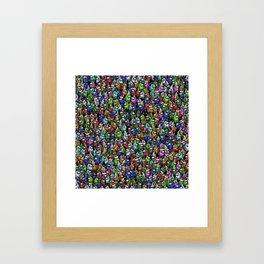Christmas Among Us Framed Art Print