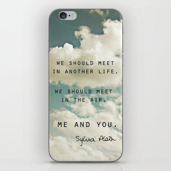 Sylvia: Air iPhone & iPod Skin