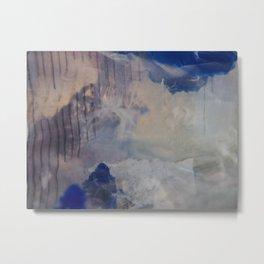 blue dream (cellophane landscape) Metal Print