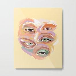 Surreal Eye Painting Metal Print
