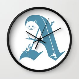 A is for Alice Wall Clock