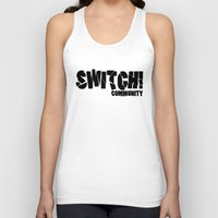 community Tank Tops featuring Switch! Community by Nikki Xiao