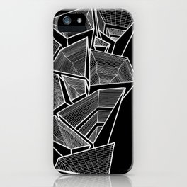 Pockets - Inverted B&W iPhone Case