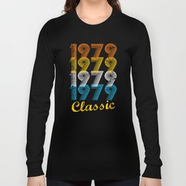 38th Birthday Gift Vintage 1979 T-Shirt for Men & Women T-Shirts and Hoodies Long Sleeve T-shirt