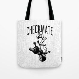Checkmate Punch Funny Boxing Chess Tote Bag