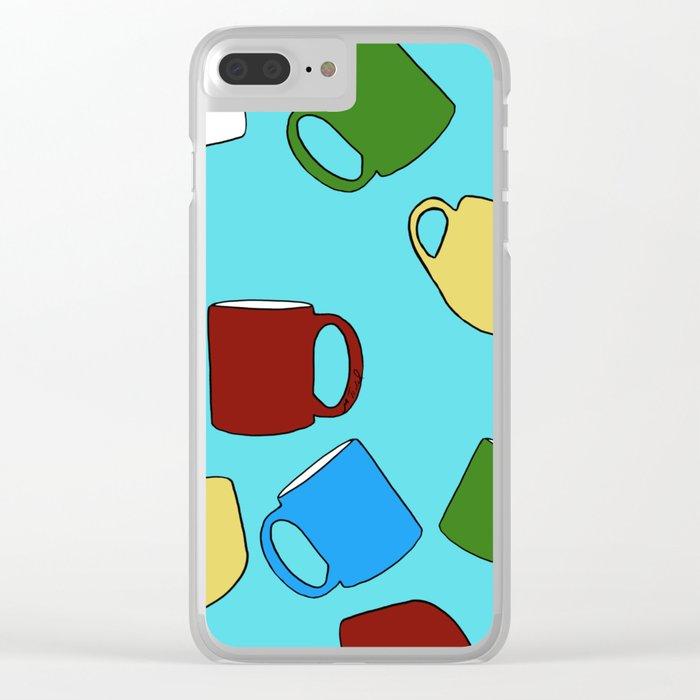 Coffee Mugs! Clear iPhone Case