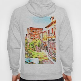 L'Aquila: foreshortening with destroyed buildings  Hoody