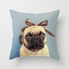 Lola Bow Throw Pillow
