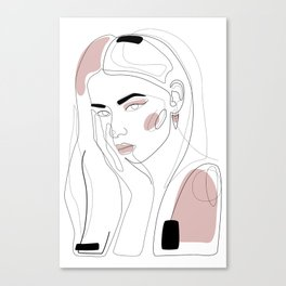 In Blush Canvas Print