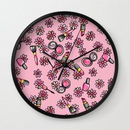 Makeup artist Wall Clock