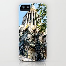 Ang Duong Stupa iPhone Case