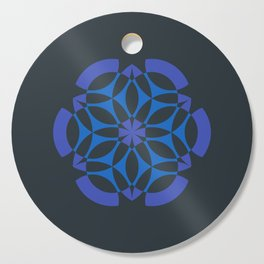 Stealthy sense | Abstract sacred geometry | Aliens crop circle Cutting Board