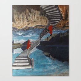 """Ascent/ Descent"" Canvas Print"