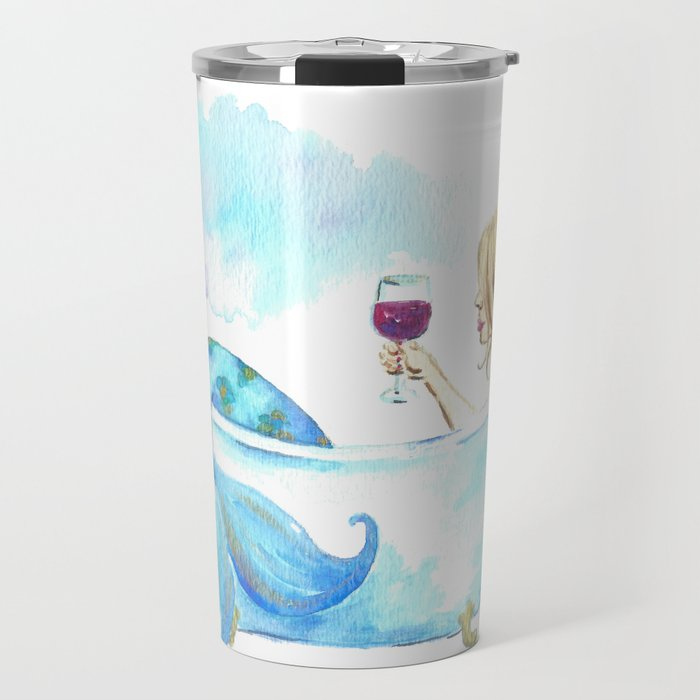 Bathtub By Imagodeinurserydecor Mermaid Travel Mug 8nN0mwyvOP