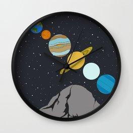 Night Sky Wall Clock