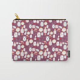 Alice in Wonderland - Purple Madness Carry-All Pouch