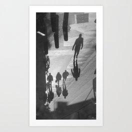 Long Shadows Art Print