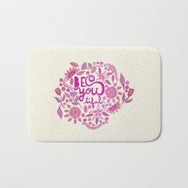 Be You-Tiful (pink edition) Bath Mat