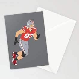 Ohio State Buckeyes - Joey Bosa (2015) (Vector Art) Stationery Cards